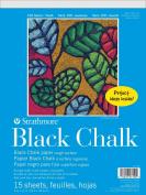 Strathmore 100 Youth Black Chalk Pad 9X12