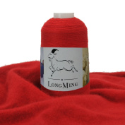 LongMing 24Nm/2 Double-ply Cashmere Blended Yarn, Soft and Warm, Crafts, Knitting, High Elasticity, Anti-pilling. N117#