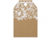 Classic Lace Printed Gift Tags 5.1cm - 0.6cm x 8.9cm - 50pack