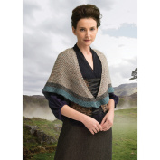 Lion Brand Yarn 600-620 Transported to 1743 Shawl (Knit) Outlander Kit