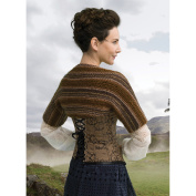 Lion Brand Yarn 600-617 Outlander Kit -Claire's Captivating Castle Leoch Shrug