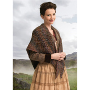 Lion Brand Yarn 600-619 Outlander Kit -Wavering Both Sides Now Shawl
