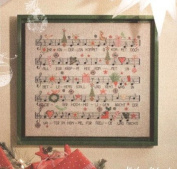 Merry Christmas songbook counted cross stitch, cotton thread , 14ct 46x45 cm 195x190 stitch counted cross stitch kits