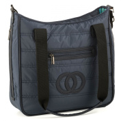 Quilted Nappy Bag, Colour Cobalt