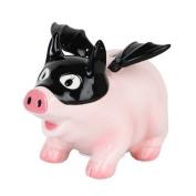 Pacific Giftware Ceramic Bat Pig Savings Piggy/Coin/Money Bank, Pink 17cm