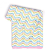 Esteffi Cotton Wavery Baby Blanket