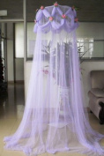 Princess Absolute Rose Ruffle Mosquito Netting Princess Violet Canopy