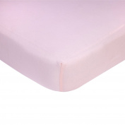 Carter's Knit Crib Sheet, Solid Pink, One Size