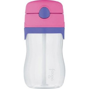 Thermos - Foogo Phases BPA-Free, Pink 330ml Leak-Proof Tritan Plastic Straw Bottle with Lid,