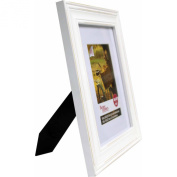 8x10 Ready-to-Display Frame, Distressed White