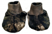Mossy Oak Breakup Country Camo pattern Cotton Jersey Infant Baby Booties