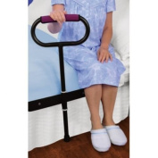 CUSHIONED BEDSIDE SUPPORT RAIL - GREAT SUPPORT FOR GETTING IN AND OUT OF BED! by Jobar International, Inc