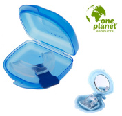 Mouth Guard with Snoring Clip by One Planet - Stop Teeth Grinding and Clenching - Better Sleep Guaranteed!