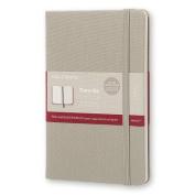 Moleskine Two-Go Notebook Medium Ruled-Plain Ash Grey