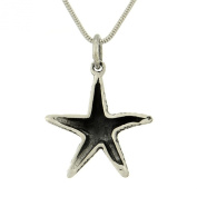 Starfish 925 Sterling Silver Beach Sea Ocean Pendant Necklace Chain Jewellery