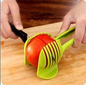 CHANS Tomato Slicer ,Multifunctional Handheld Tomato Round Slicer Fruit Vegetable Cutter,Lemon Shreadders Slicer