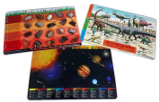 Painless Learning 3 Placemats Bundle