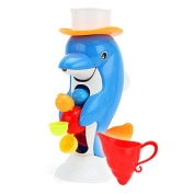 NOQ Summer Infant dolphin Shower Bath Spray Water and Toys
