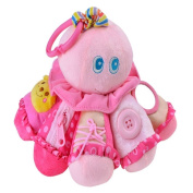 Little Dot Baby Soft Toy Lovely Octopus Hanging Rattle Ring Learn to Dress Plush Toy Gifts for Kids