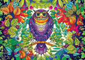 Buffalo Games Featuring The Work of Johanna Basford Forest Owl Jigsaw Puzzle