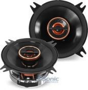 Infinity REF-4022cfx 105W 10cm Reference Series Coaxial Car Speakers with Edge-driven, textile tweeters - Pair