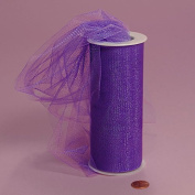 Shimmer, Sparkle, Glimmer, Metallic and Polka Dot Tulle Ribbon Rolls - 25 Yards - 15cm Wide