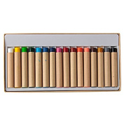 MoMa Muji Painted fabric crayons / 16 colours