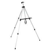 Aluminium Folding Easel Artist Field Display Presentation Exhibition Picture Holder Adjustable 160cm Tripod Stand Lightweight with Carry Bag for Outdoor Floor Tabletop Drawing Painting Sketching