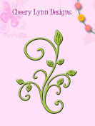 Cheery Lynn Designs B117S Mini Fanciful Flourish Die Cut