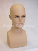 ROXY DISPLAY® Realistic Male Mannequin Head