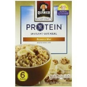 Quaker Protein Instant Oatmeal, Banana Nut, 380ml (Pack of 6) Thank you for using our service