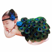 Binmer(TM)Newborn Baby Girls Boys Peacock Costume Photo Photography Prop Outfits
