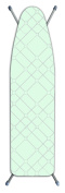 Laundry Solutions by Westex Deluxe Extra Thick Squares Ironing Board Cover, Teal