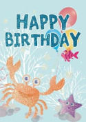 Under the Sea - Happy Birthday Card-Book