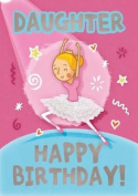Ballet (Daughter) - Happy Birthday Card-Book