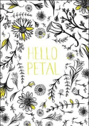 Hello Petal - Adult Colouring Card-Book