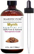 Myrrh Essential Oil From Majestic Pure, Therapeutic Grade, Pure and Natural, 120ml