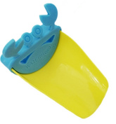 Affe Lovely Crab Durable Kid Toddler Baby Faucet Extender Washing Hands Bathroom Sink, Blue+Yellow