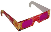 Rainbow Symphony Rose Coloured Glasses, Package of 100