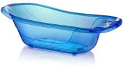 Large 50 Litre Aqua BLUE Clear / Transparent Baby Bath Tub