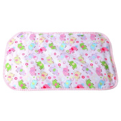 Baby Infant Elephant Pattern Absorbent Urine Mat Waterproof Changing Underpad Mattress Pad Cover
