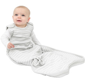 Woolino 4 Season Baby Sleep Bag - Merino Wool Baby Sleeping Bag 2Mo-2Yrs Grey