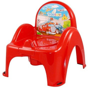 Childrens Potty Chair Easy Clean Kids Toddler Training Toilet Seat Cars
