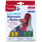 New Childs Clippasafe Premium Strong Harness With Reins & Anchor Straps Colours