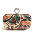 Jodhpur cluctch bag with diamond ring clasp