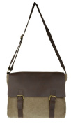 Girly HandBags Messenger Italian Leather Satchel