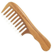 Sandalwood Wide-tooth Massage Natural Comb, Large sandal wood comb anti static comb