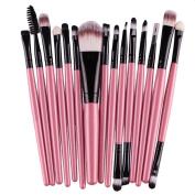 Makeup Tools, FEITONG 15 pcs/Sets Eyeshadow Eyebrow Lip Brush Makeup Brushes