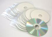 20 x Traxdata Ritek full-face Inkjet Printable CD in HQ plastic wallets 52x speed