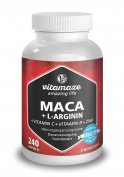 NEW ! MACA Super Strong 4000 mg + L-Arginine 1800 mg, 240 capsules for 2 month supply, Special SALES! 100% Money Back Garantuee
